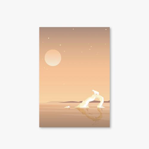 아트커버 디자인 노트 Moonlight Series Type A Bear