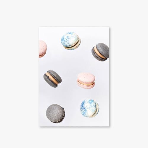 아트커버 디자인 노트 Nature Dot Series Type A Macaron