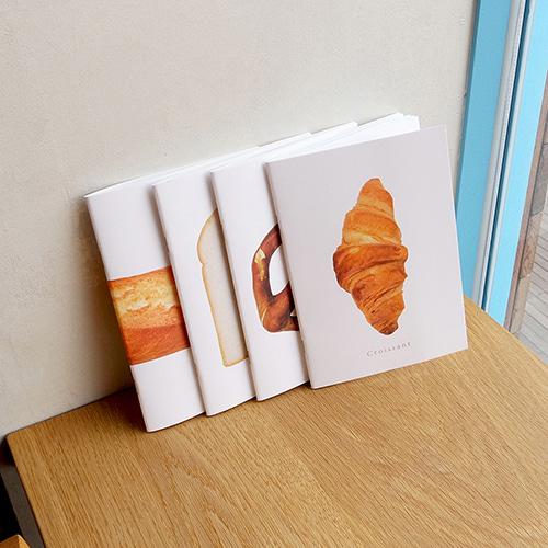 아트커버 디자인 노트 4권 SET 1.Bread Series
