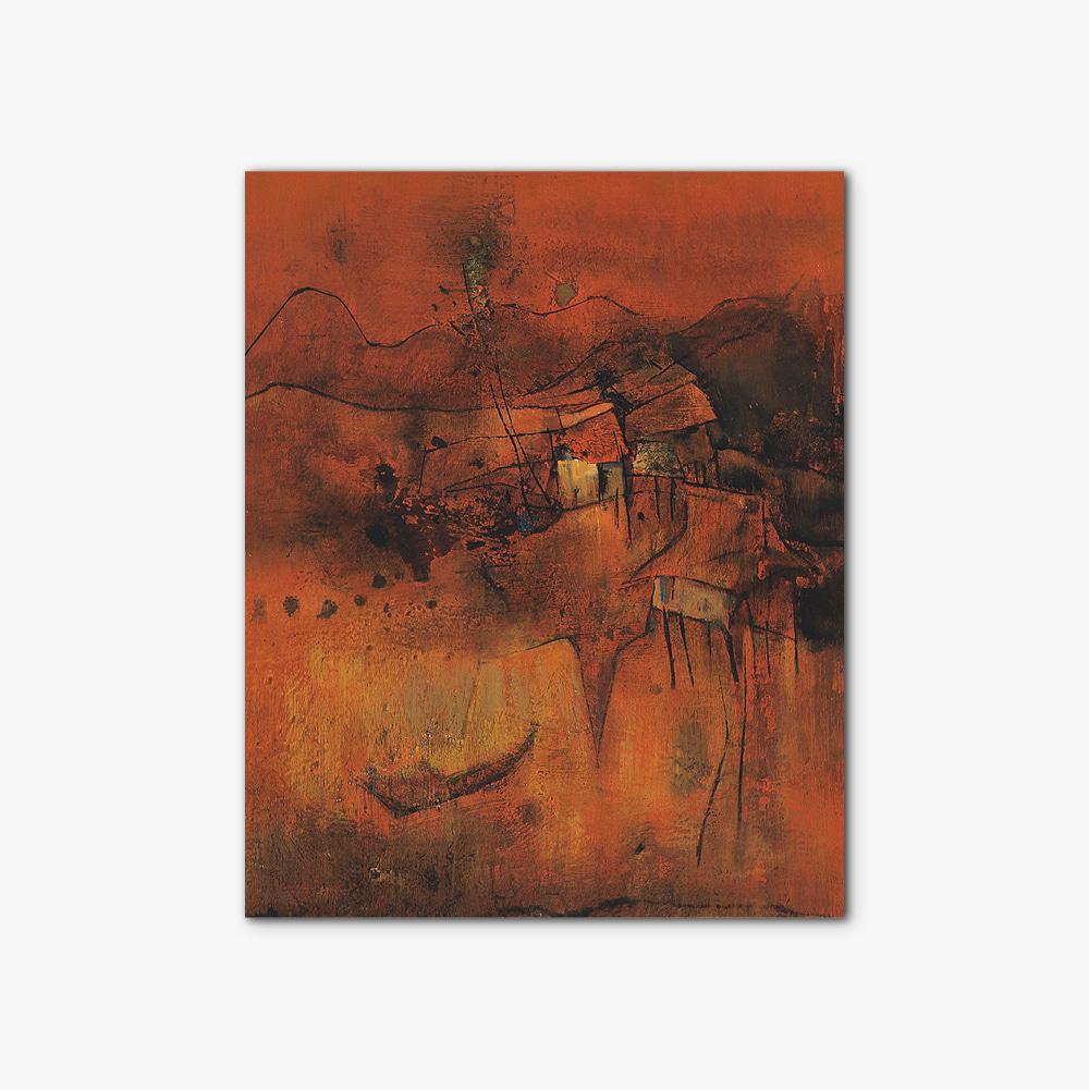 캔버스 인테리어 추상화 액자 Abstract painting 380
