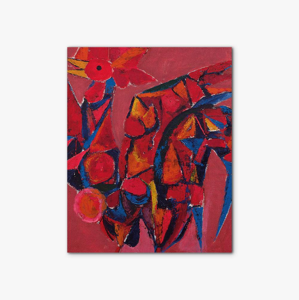 캔버스 인테리어 추상화 액자 Abstract painting 386