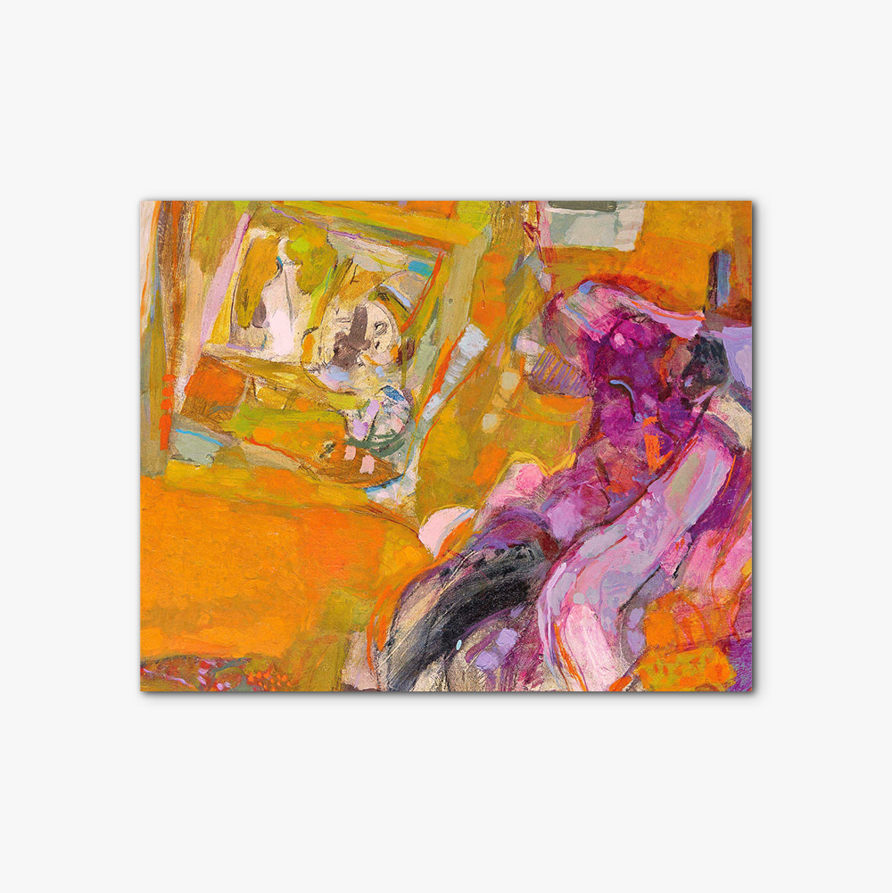 캔버스 인테리어 추상화 액자 Abstract painting 390