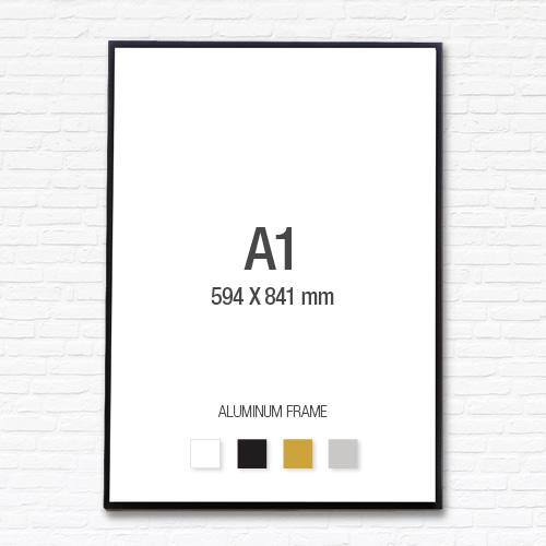 [알루미늄프레임] 알루미늄 액자 A1