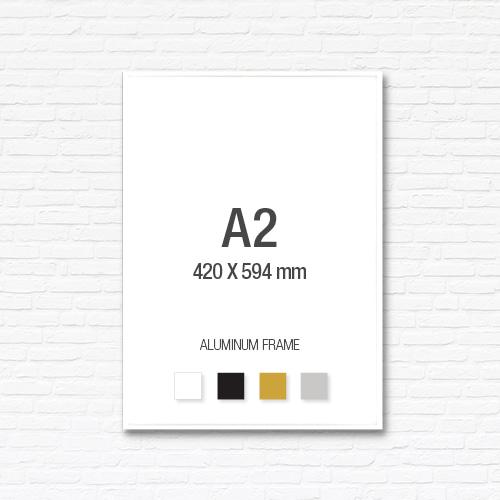 [알루미늄프레임] 알루미늄 액자 A2