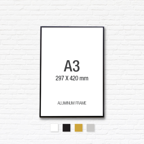 [알루미늄프레임] 알루미늄 액자 A3