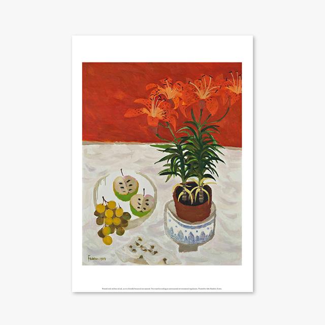 (플라워 아트 포스터) Flower Series ART Poster_1088