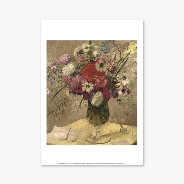 (플라워 아트 포스터) Flower Series ART Poster_1257