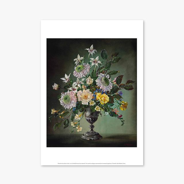 (플라워 아트 포스터) Flower Series ART Poster_1258
