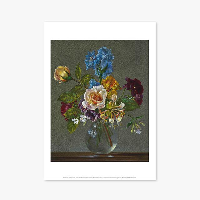 (플라워 아트 포스터) Flower Series ART Poster_1260