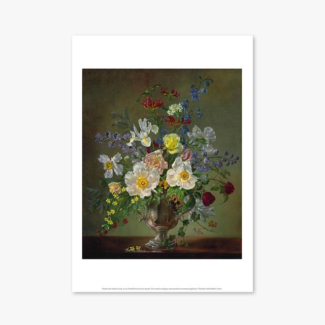 (플라워 아트 포스터) Flower Series ART Poster_1261