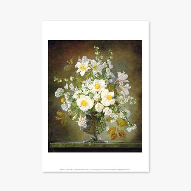 (플라워 아트 포스터) Flower Series ART Poster_1262