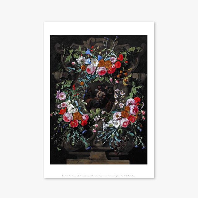 (플라워 아트 포스터) Flower Series ART Poster_1265