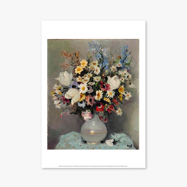 (플라워 아트 포스터) Flower Series ART Poster_1271