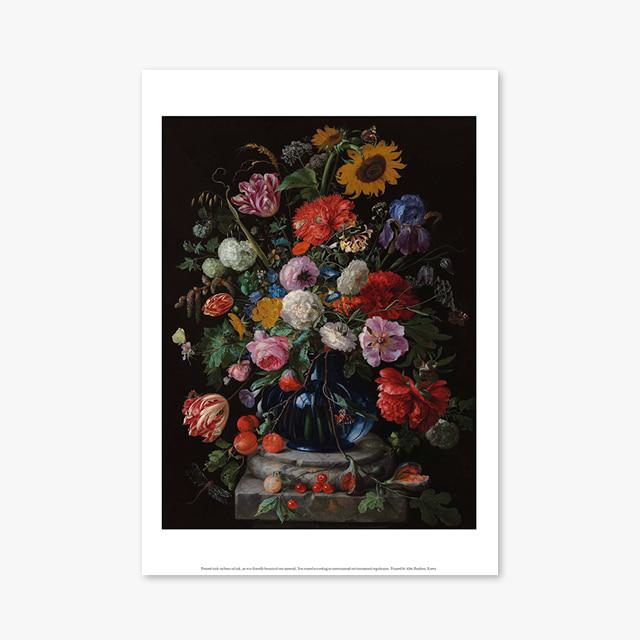 (플라워 아트 포스터) Flower Series ART Poster_1277