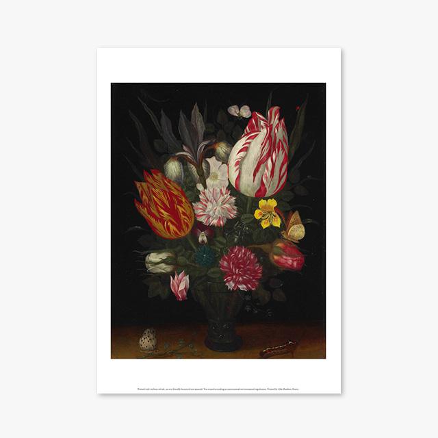 (플라워 아트 포스터) Flower Series ART Poster_1278