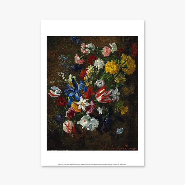 (플라워 아트 포스터) Flower Series ART Poster_1280