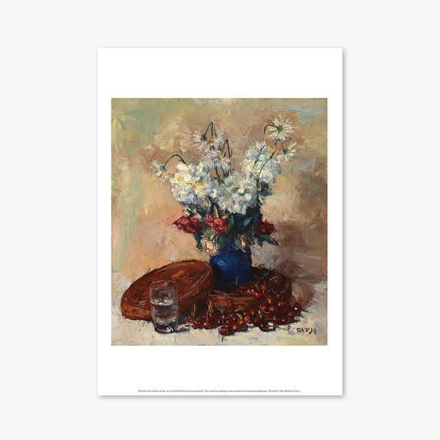 (플라워 아트 포스터) Flower Series ART Poster_1291