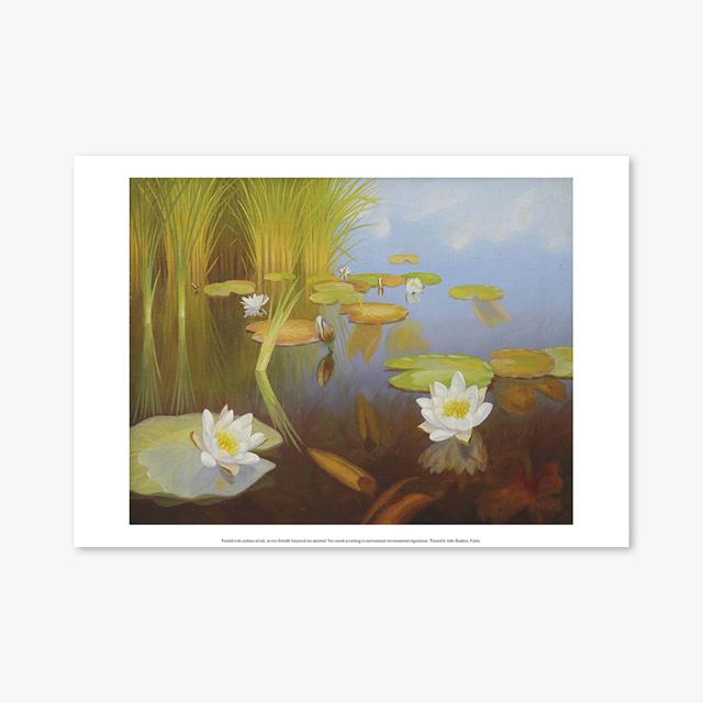 (플라워 아트 포스터) Flower Series ART Poster_1302