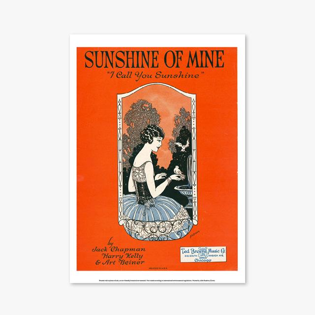 039_Vintage Art Posters_SUNSHINE OF MINE (빈티지 아트 포스터)