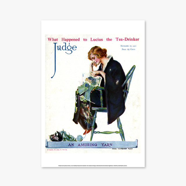 088_Vintage Art Posters_JUDGE (빈티지 아트 포스터)