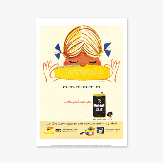 095_Vintage Art Posters_MORTON SALT (빈티지 아트 포스터)