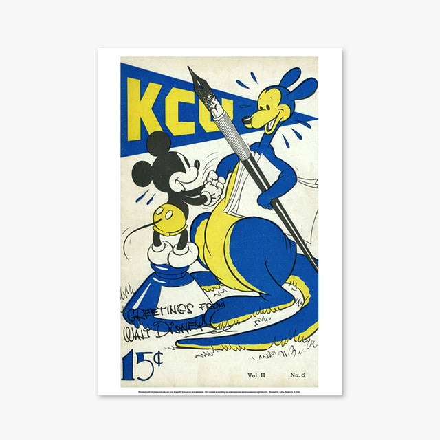 311_Vintage Art Posters_Disney-Cover-left (빈티지 아트 포스터)